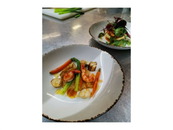 Menú gourmet de 6 platos en Thessoni classic & home