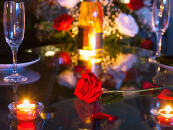 Candle light dinner in zurich