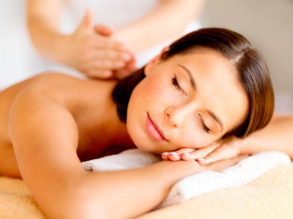 Massage in the office, apartment or in the studio