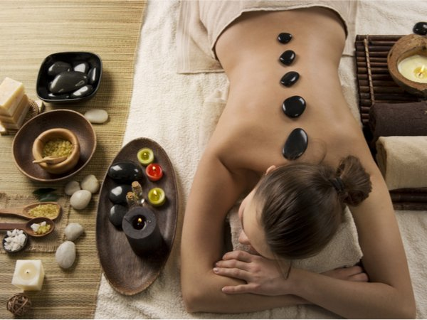 Hot oder Mineral Stone Massage