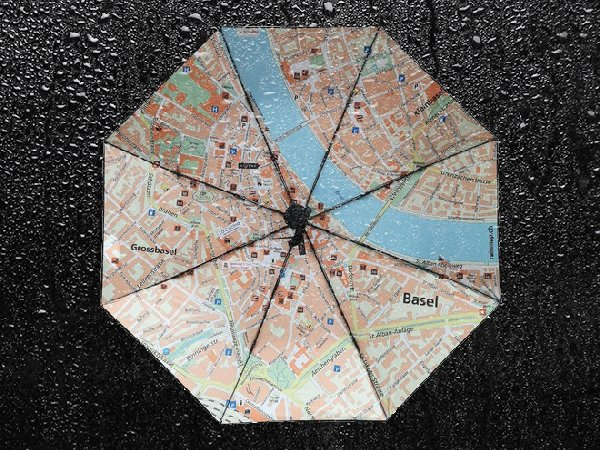 Umbrella Rainmap Basel