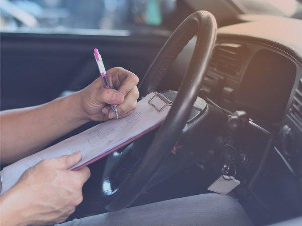 3 / 5 Fahrlektionen für die Autoprüfung mit Anhänger