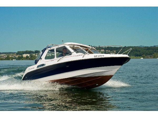 Motorboot Doppellektionen