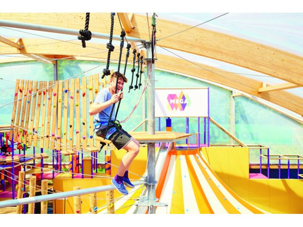 Combination ticket fun & climbing park for children and adults