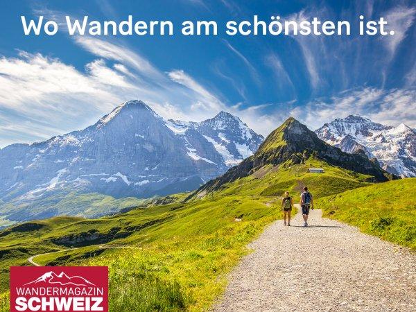 Wandermagazin SCHWEIZ Jahresabonnement - 8 Ausgaben & 1 Paar Wandersocken