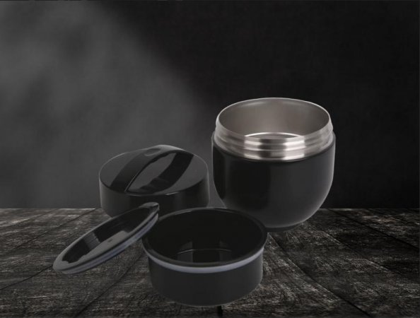 Thermo Lunchpot schwarz