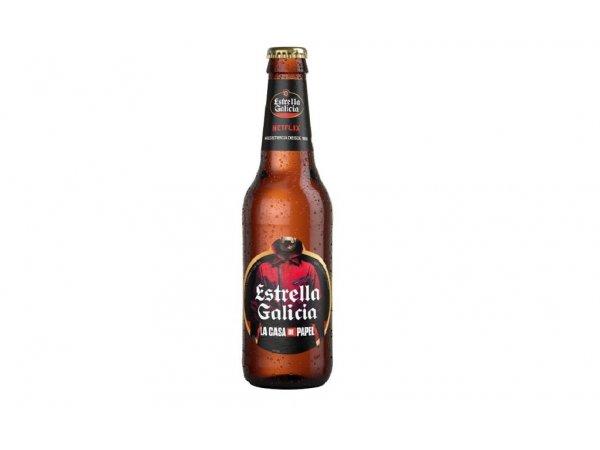 Estrella Galicia Haus des Geldes Sonderausgabe - 25cl
