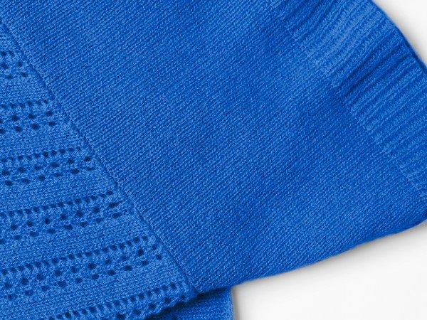 Cashmere scarf - Ibiza Lapis