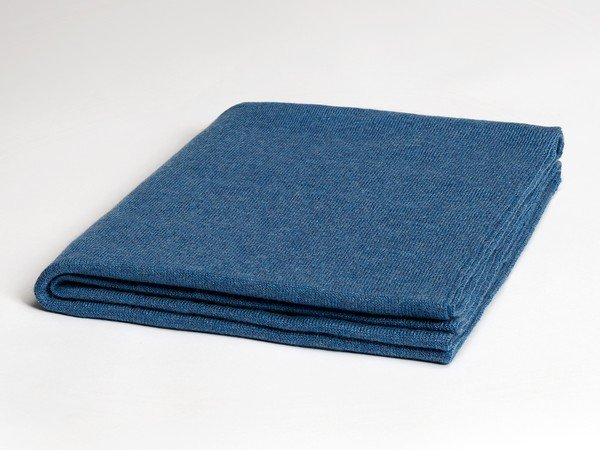 Cashmere scarf - London Baltic blue