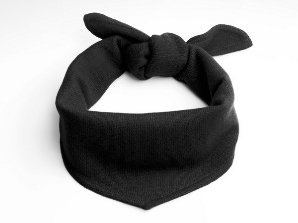 Cashmere scarf - New York black
