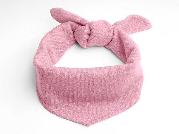 Cashmere scarf - New York pink