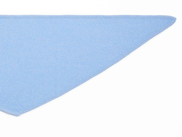Bufanda de cachemir - Nueva York azul claro