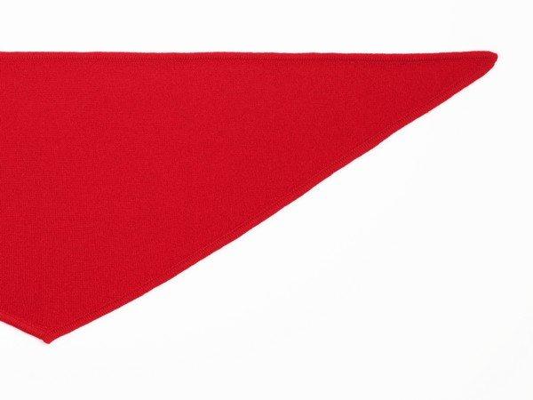 Bufanda de cachemir - rojo de Nueva York