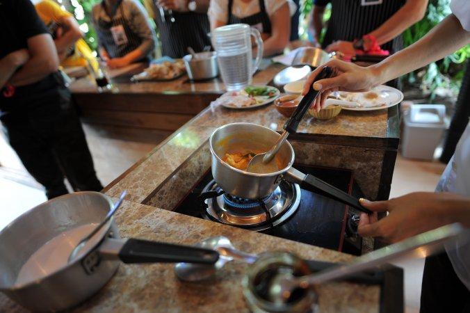 Gourmet-Kochkurs - 5 Gänge Menü aus dem See bis zur Baumgrenze «Signature Dish»