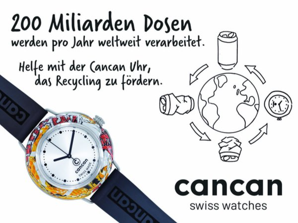 cancan-watch - El reloj reciclado