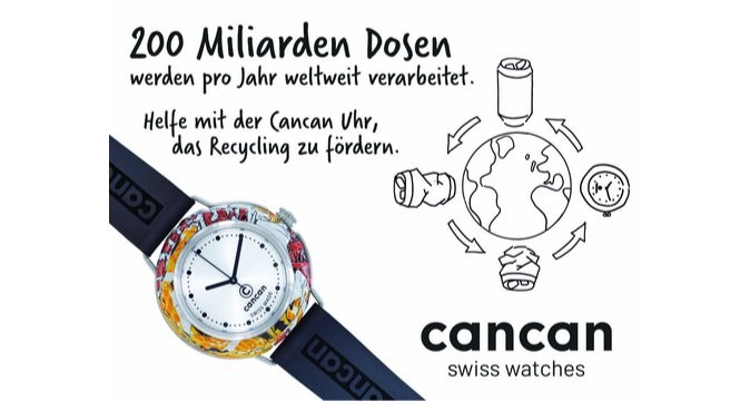 cancan-watch - The recycled watch