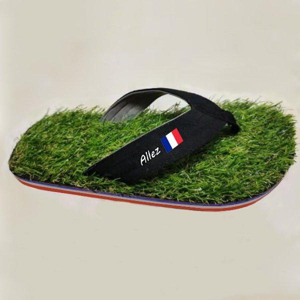 Grass Flip Flop Frankreich