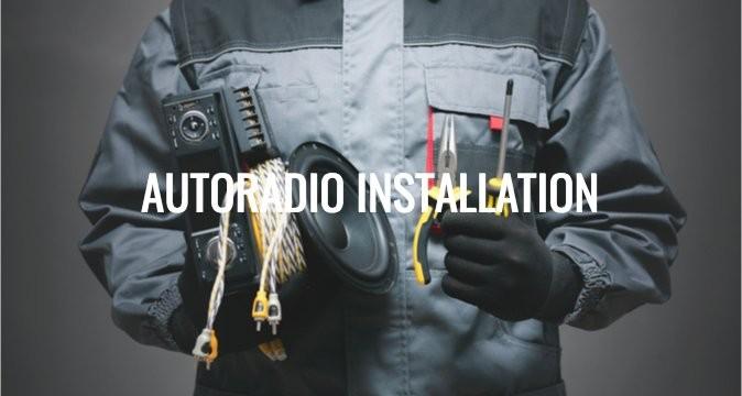 Autoradio Installation