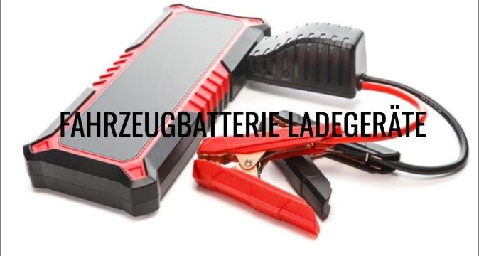 Fahrzeugbatterie Ladegeräte
