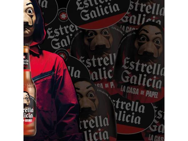 Estrella Galicia Haus des Geldes Sonderausgabe Staffel 5 - 33cl
