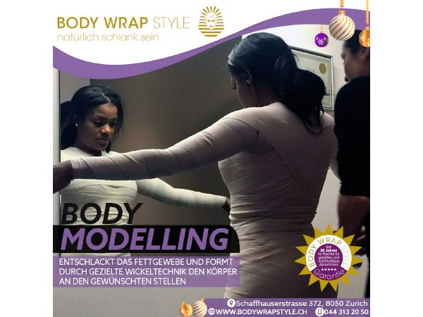 BODY Modelling – Ganzkörperwickel