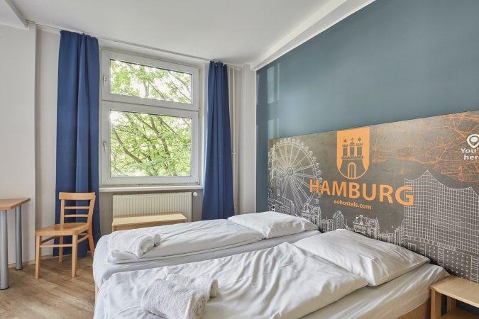 Kurzurlaub zu zweit im a&o Hamburg Hauptbahnhof & 2 Tickets für St. Pauli-Führung