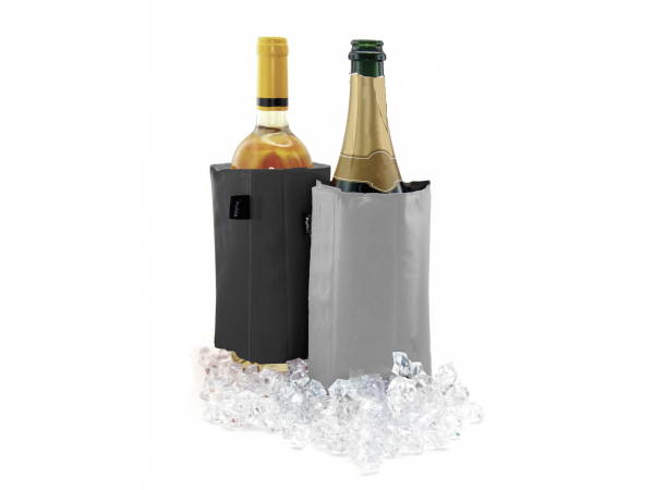 Accesorios para vino Champagne & Wine Cooler Black & Grey