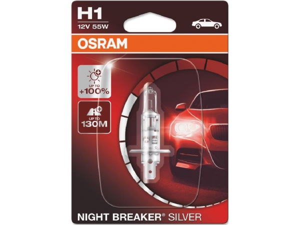 Night Breaker Silver H1/12V/55W/P14,5s