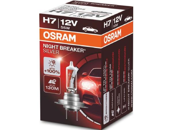Night Breaker Silver H7 12V 55W PX26d