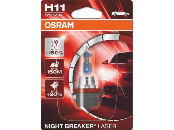 Night Breaker Laser H11 12V 55W PGJ19-3