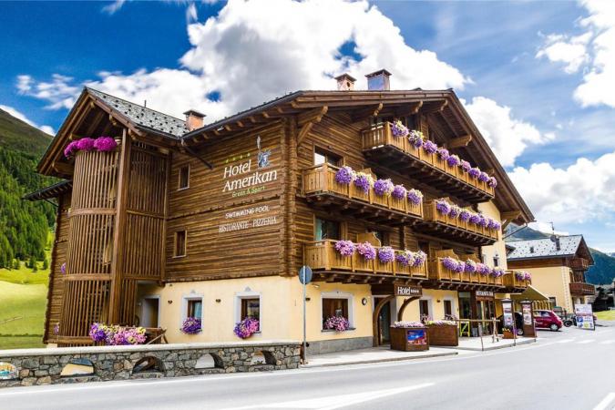 4 Tage Erholungsurlaub für 2 in Livigno im 4* Hotel Amerikan