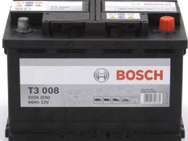 Starterbatterie Bosch 12V/66Ah/510A LxBxH 278x175x190mm/S:0