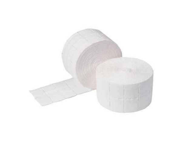 Cosmetic Pads Square 500 pcs - 2 rolls