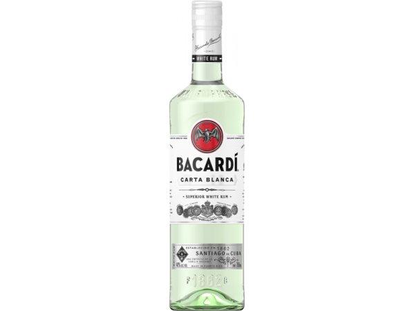 Bacardi Carta Blanca 37.5° 70cl