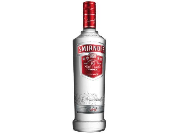 Smirnoff Red Label Vodka 37.5° 70cl