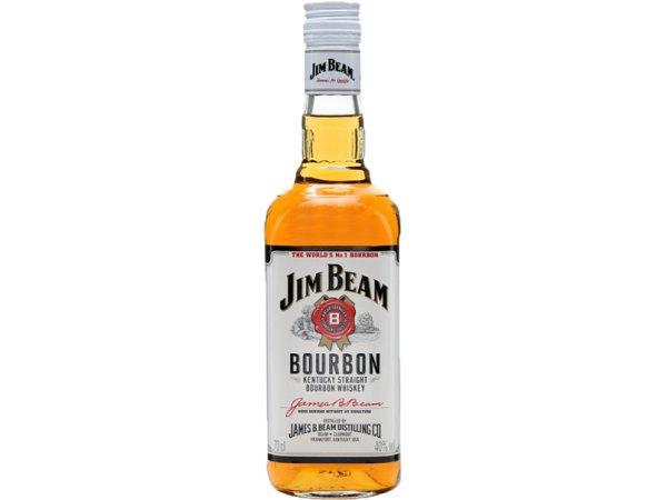 Jim Beam Original Bourbon Whisky White Label 40° 70cl