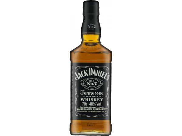 Jack Daniel´s No.7 Black Label 40° 70cl