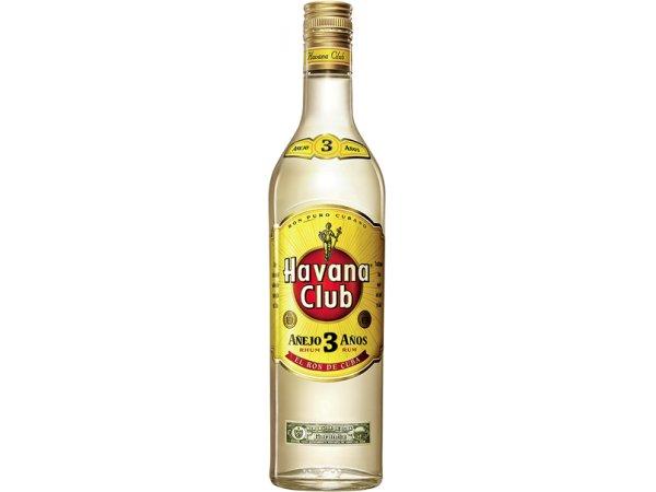 Havana Club Añejo 3 años blanco 40° 70cl