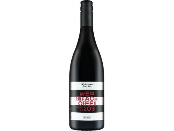 von Salis Pinot Noir «Wein einfach offen» 2018 75cl