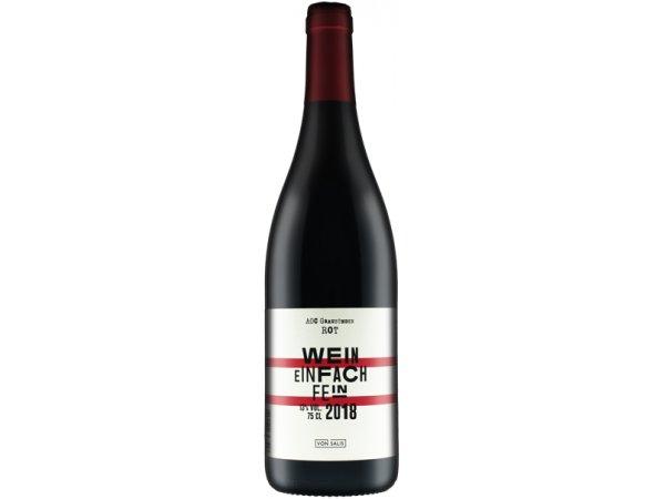 von Salis «Wein einfach fein» ROT 2018 75cl