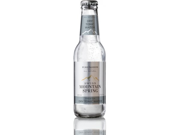 Swiss Mountain Spring Dry Tonic 0° 20cl