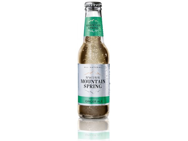 Swiss Mountain Spring Ginger Ale 0 ° 20cl