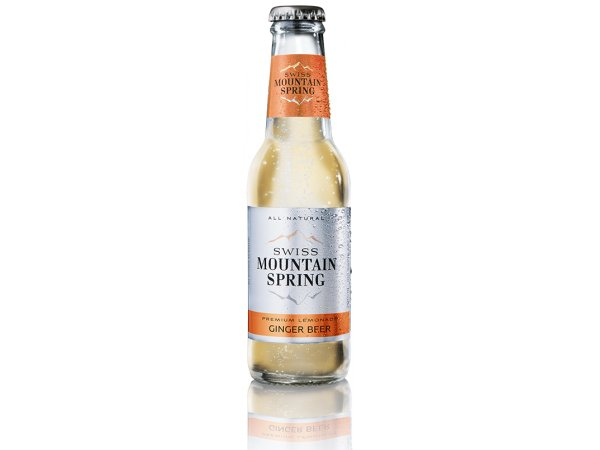 Swiss Mountain Spring Ginger Beer 0° 24x20cl