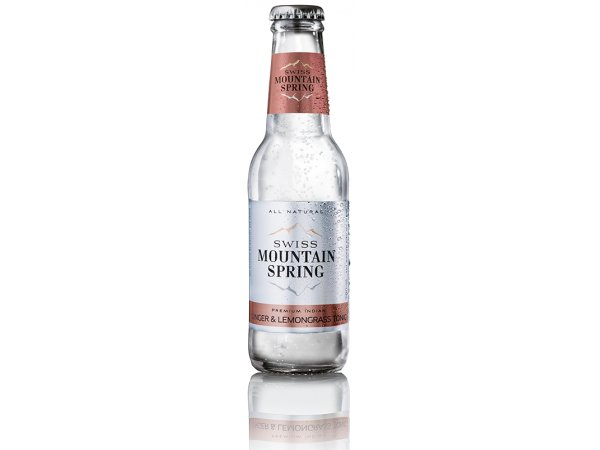Swiss Mountain Spring Ginger Lemongrass Tonic 0 ° 20cl
