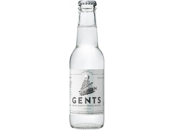 Gents Swiss Roots Tonic Water 0° 24x20cl