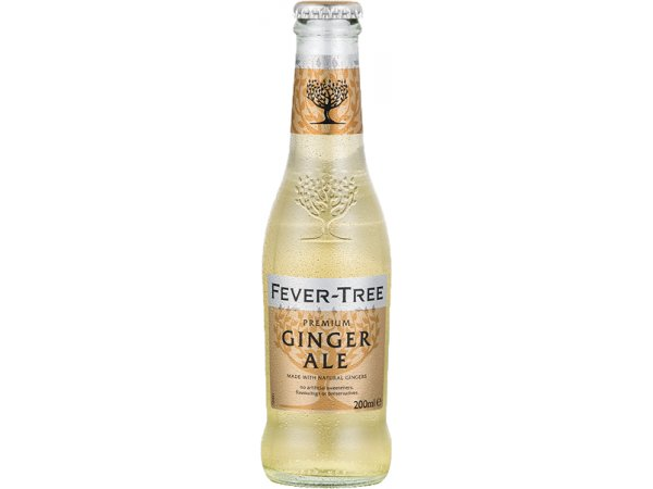 Fever Tree Premium Ginger Ale 4er Pack 0° 20cl