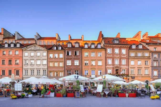 Polen Kurzurlaub zu zweit in Warschau im a&o Warschau Wola