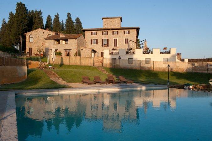 7 Tage im **** Villa San Filippo in San Filippo nahe Florenz in der Toskana