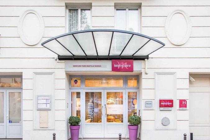4 Tage zu zweit im 4* Mercure Hotel Paris Bastille Marais in der Stadt der Liebe