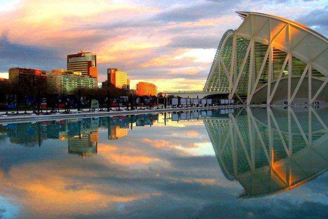 4 Tage zu zweit im 4**** Hotel Sercotel Acteon in Valencia erleben